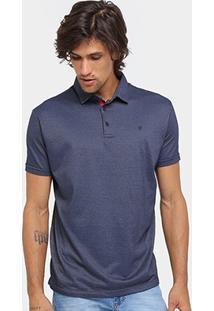 Camisa Polo Forum Malha Textura Masculina - Masculino