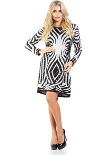 Vestido Tricot Zebra Lafort P
