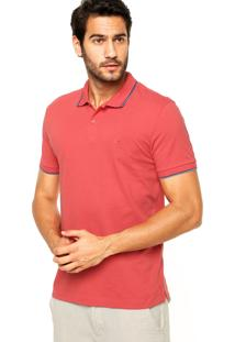 Camisa Polo Aramis Bordado Degradê Coral