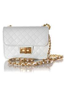 Bolsa Feminina Matelassê E Corrente Dourada Luxo Lançamento Blogueirabranco