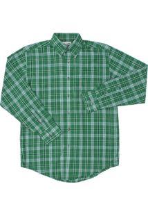 Camisa Detalhes Wrangler Verde