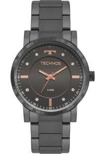 Relógio Technos Trend Feminino - Feminino-Grafite