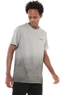 Camiseta Quiksilver Degra Sig Cinza