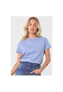 Camiseta Dzarm Aplicações Azul
