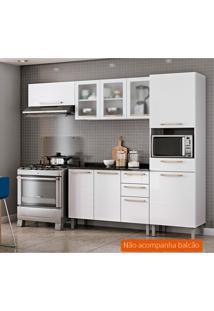 Cozinha Compacta Dandara 6 Pt 1 Gv Branca