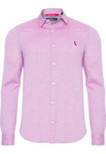 Camisa Masculina Cairo - Vinho