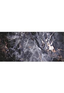 Tapete Transfer Mã¡Rmore- Cinza Escuro & Branco- 90X4Tapetes Junior