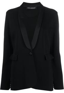 Neil Barrett Single-Breasted Fitted Blazer - Preto