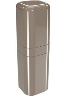 Porta Escova Com Tampa Splash 22,5X6,5Cm Warm Gray