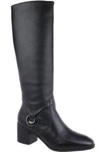 Bota Cano Alto Bottero Leather Feminina - Feminino