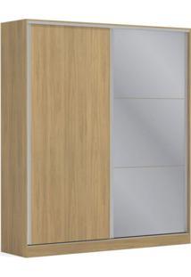Guarda Roupa Casal Com Espelho 2 Portas 3 Gavetas Premium Kappesberg Itapuã
