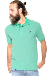 Camisa Polo Mr Kitsch Maga Curta Essential Verde