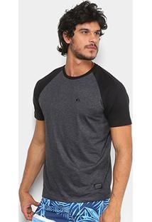 Camiseta Quiksilver Raglan Everyday Masculina - Masculino