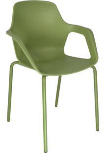 Cadeira De Cozinha Com Braço Beau Verde