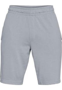 Shorts Under Armour Rival Masculina - Masculino-Cinza