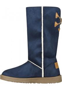 Bota Barth Shoes Las Lenas Azul-Marinho