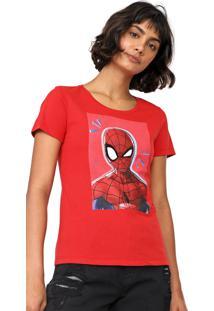 Blusa Cativa Marvel Spider-Man Vermelha