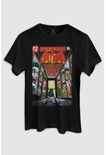 Camiseta Dc Comics Batman Rogues Gallery Bandup! - Masculino-Preto