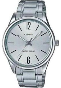 Relógio Casio Fundo Ltp-V005D-7Budf Feminino - Feminino-Prata