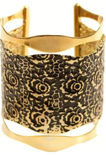 Bracelete Turpin Isadora Ouro Velho