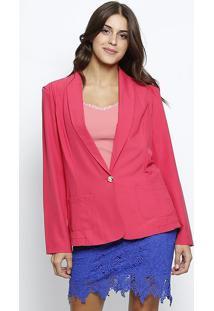 Blazer Com Bolsos - Pink- Le Fixle Fix