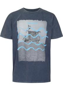 Camiseta Ocean Pacific Visual Masculina - Masculino