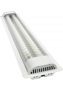 Luminária Led De Embutir Ta 71 2X20W 6500K Branco Taschibra Bivolt