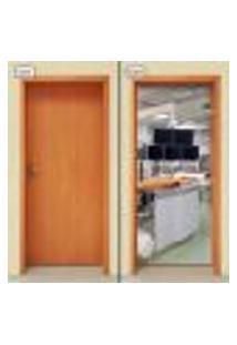 Adesivo Decorativo De Porta - Sala Estética - 1540Cnpt