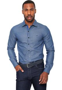 Camisa Handbook Reta Azul