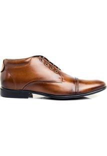 Sapato Social Hb Agabe Masculino - Masculino-Marrom