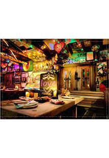 Jogo Americano Decorativo, Criativo E Descolado | Bar Na Colômbia - Tamanho 30 X 40 Cm