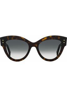 Fendi Eyewear Óculos De Sol F Is Fendi - Marrom