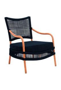 Cadeira De Corda Kelly Azul Marinho