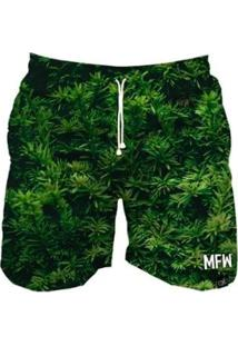 Short Tactel Maromba Fight Wear Forest Com Bolsos Masculino - Masculino-Preto+Verde