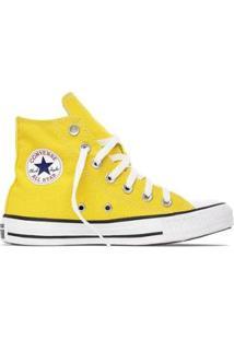 Tênis Converse All Star Chuck Taylor Seasonal Hi - Amarelo - Feminino-Amarelo