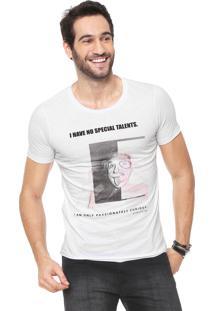Camiseta Sergio K Foto Branca