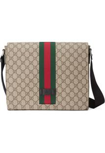 Gucci Messenger Bag Gg Supreme - Neutro
