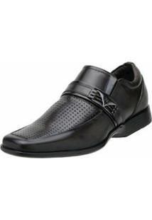 Sapato Social Nevano - Masculino-Preto
