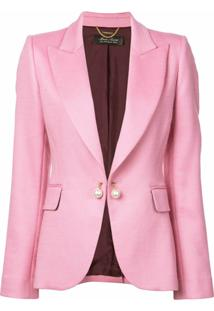 Adam Lippes Single-Breasted Blazer - Rosa