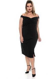 Vestido Domenica Solazzo Millennium Plus Size - Tricae