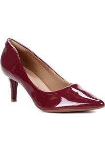 Sapato Scarpin Feminino Crysalis Marsala