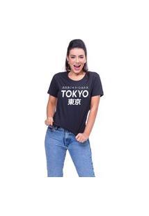 T-Shirt Tokyo Preto