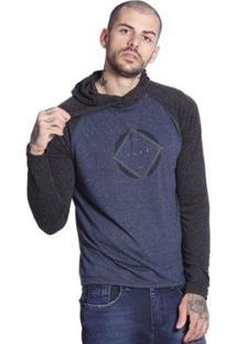 Camiseta Slim Fit Vlcs Manga Longa Masculina - Masculino