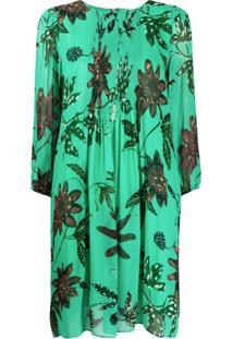 Dorothee Schumacher Vestido Com Estampa Floral - Verde