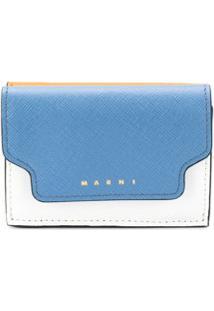 Marni Carteira Color Block - Azul