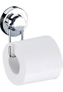 Suporte Para Papel Higiênico Papeleira Ventosa Banheiro Aço