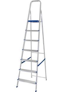 Escada De Alumínio 7 Degraus Mor - Multistock