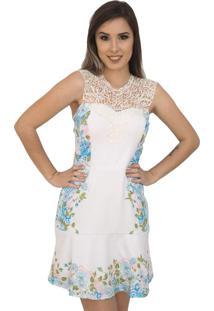 Vestido Capim Canela Dolce Floral