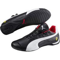 60913e11b71 Tênis Couro Puma Scuderia Ferrari Future Cat Og Masculino - Masculino -Preto+Branco