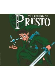 Camiseta The Legend Of Presto - Masculina